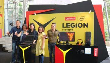 Legion by Lenovo Jadi Sub-Brand Gaming Terbaru di Indonesia
