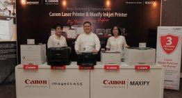 Canon Rilis 3 Rangkaian Printer MAXIFY Terbaru