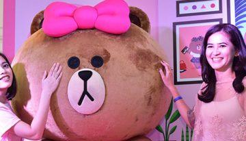 LINE Ajak Pengguna di Indonesia Berkenalan dengan Karakter Terbaru Choco, Adik Perempuan Brown