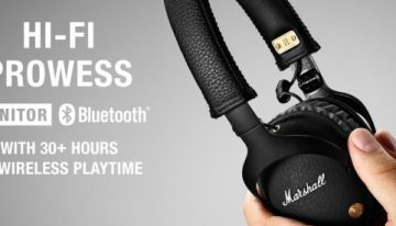 Marshall Monitor Bluetooth: Headphone Nirkabel Flagship