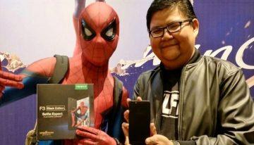Asyik, OPPO Promosikan F3 Melalui Film Spider-Man: Homecoming