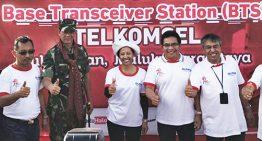 Layanan Telkomsel Hadir Memajukan Pulau Liran yang berbatasan dengan Timor Leste
