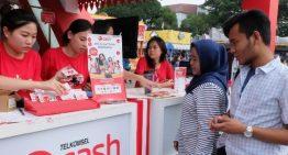 Layanan Broadband dan Digital Dominasi Transaksi Pelanggan Telkomsel di Jakarta Fair Kemayoran 2017