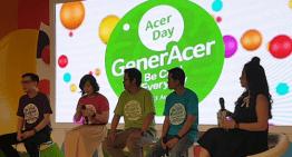 "Acer Gelar ""GenerAcer Day"" Pamerkan Jajaran Produk dan Inovasi yang Cool dan Kekinian"