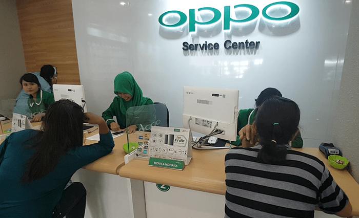 Cuma satu Jam saja OPPO Service Center memperbaiki Henpon