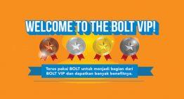BOLT Persembahkan Program Loyalitas Bagi Seluruh Pelanggan Setia