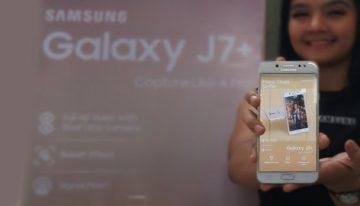 Samsung Galaxy J7+ Sahabat Andalan Anak Anak Millenial