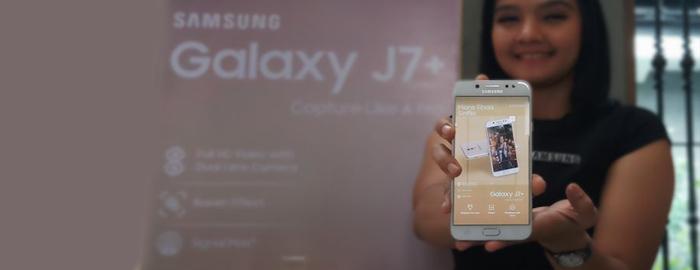 Photo of Samsung Galaxy J7+ Sahabat Andalan Anak Anak Millenial
