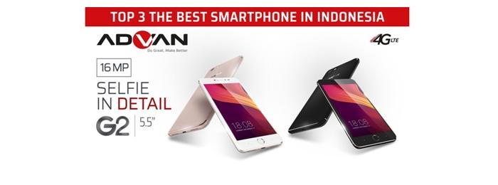Photo of Masuk TOP 3 BEST SMARTPHONE 2017, ADVAN menjadi Brand Kebanggan Indonesia