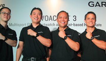 Garmin® vívoactive® 3 Smartwatch yang Menjadi Pelacak Aktivitas Sejati, Kebugaran, dan Tampil gaya