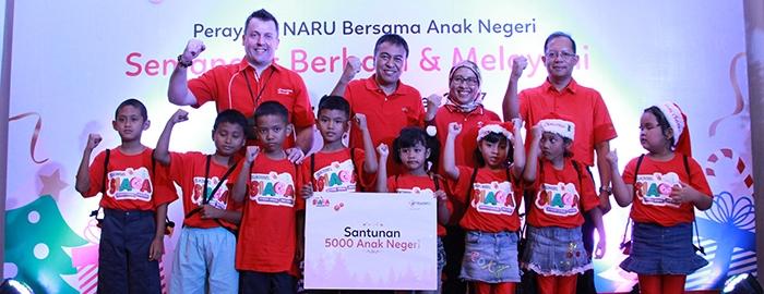 Photo of Sambut Natal & Tahun Baru, Telkomsel Berbagi Bersama Anak Panti Asuhan di Jabotabek dan Jabar