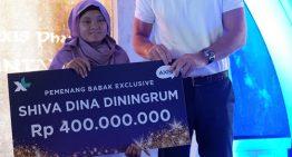 Di Program Kuiz XTRAVAGANZA & FANTAXIS Periode-3 Siswa SMP asal Cirebon dapat Hadiah Rp 400 Juta