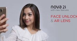 Huawei Nova 2i Hadirkan 'Face Unlock' dan 'AR Lens' untuk Fitur Aman dan lucu Lucuan