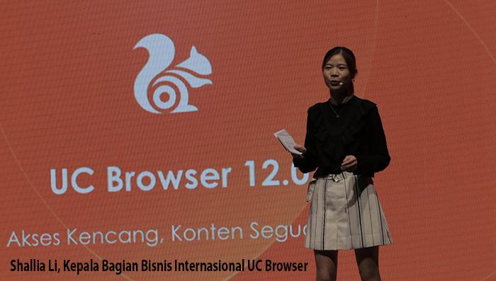 Shallia Li, UC Browser ok