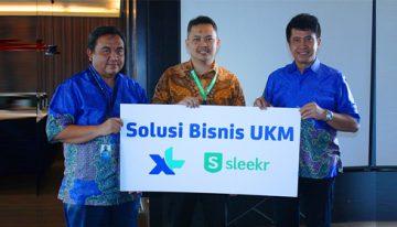 XL Axiata dan Sleekr Hadirkan Solusi Pengembangan Bisnis UKM