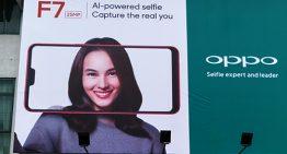 OPPO Konfirmasikan Kehadiran F7 Melalui Billboard sudah mulai terpasang di beberapa kota besar di Indonesia