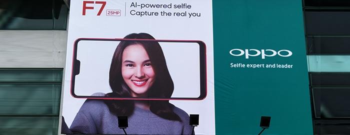 Photo of OPPO Konfirmasikan Kehadiran F7 Melalui Billboard sudah mulai terpasang di beberapa kota besar di Indonesia