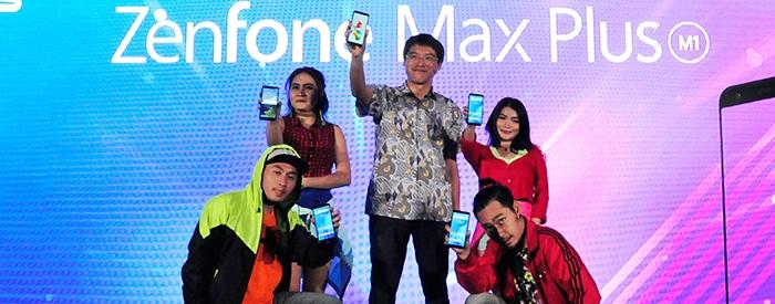 Photo of ASUS ZenFone Max Plus M1, Smartphone layar Lebar dengan Baterai Besar