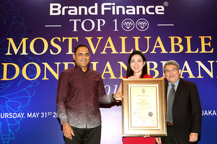 Indonesia's Top 100 Most Valuable Brands 2018 ok