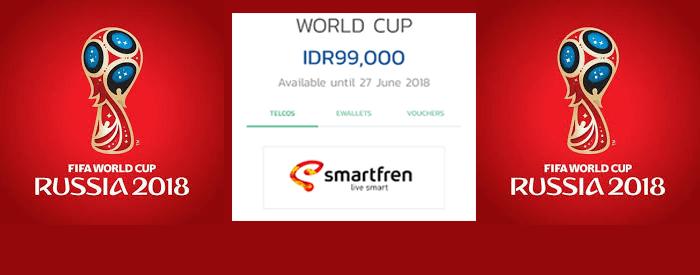 Photo of Tonton Piala Dunia 2018 dengan Jaringan 4G LTE Smartfren via KlixTV mulai Rp 99.000,-