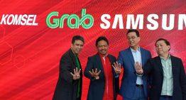 Kerjasama Grab, Samsung, Telkomsel, dan Erafone buat program kepemilikan henpon cerdas khusus untuk mitra pengemudi
