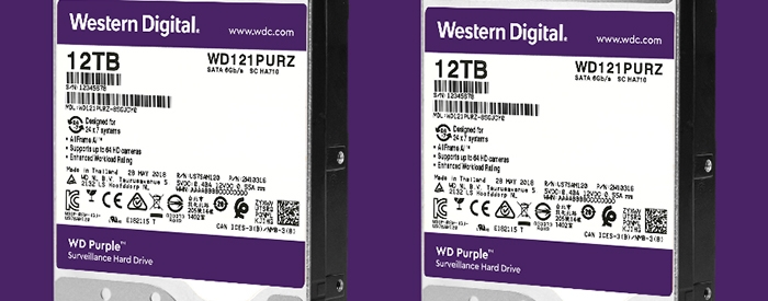 Photo of WESTERN DIGITAL Hadir Produk-Produk  Berkapasitas Tinggi  Terbaru Hard Drive Western Digital Purple 12TB
