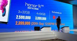 """Meluncurkan Honor 9i, Ambisi Honor menjadikan Ikon Gaya hidup dengan mengusung Tema """"Beauty Ali Around"""" di Pasar Smartphone Indonesia"""