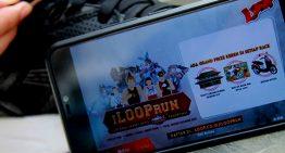 Telkomsel Gelar I LOOP RUN Di 8 Kota dengan konsep fun dalam kompetisi dimana  para peserta berlari mengenakan kostum cosplay