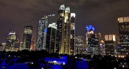 Memotret Lansekap Perkotaan dengan Smartphone dimalam hari menggunakan Huawei Nova 3i