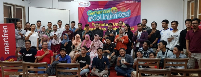 Photo of Smartfren Dorong Kreativitas Generasi Milenial dalam Program #GoUnlimited di Salatiga