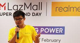 Realme dan Lazada Hadirkan Super Brand Day Bikin Pengalaman Berbelanja yang Unik Bagi Konsumen