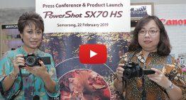 Canon PowerShot SX70 HS, Ringkas Berteknologi 4K dengan Optical Zoom Hingga 65x