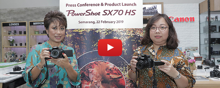 Photo of Canon PowerShot SX70 HS, Ringkas Berteknologi 4K dengan Optical Zoom Hingga 65x