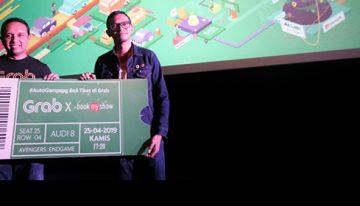 Beli Tiket Nonton Bioskop Bisa Langsung dari Aplikasi Grab