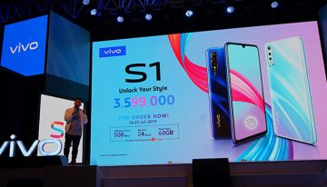 """vivo S1 Resmi Meluncur di Indonesia dengan mengusung tagline """"Unlock Your Style"""""""