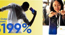 Realme X Menjadi Smartphone  dengan Penjualan Tercepat Di Shopee & realme Raih 10 Juta Fans Hanya Dalam Waktu Setahun
