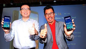Xiaomi luncurkan Redmi 7A di Indonesia. Smartphone entry-level berkualitas tinggi  dengan baterai besar dan performa cepat seharga Rp.1.299.000 dibandling Smartfren