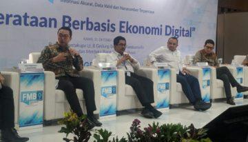 Pemerataan Ekonomi Digital yang bisa dinikmati secara adil oleh seluruh masyarakat Indonesia