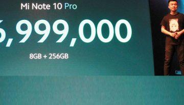 Xiaomi luncurkan Mi Note 10 Pro di Indonesia dengan 108MP dan Penta-camera pertama di dunia